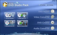 Aimersoft DVD Studio Pack screenshot